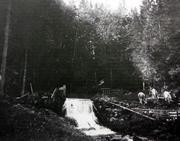 Le captage de la source du Brassus en 1902